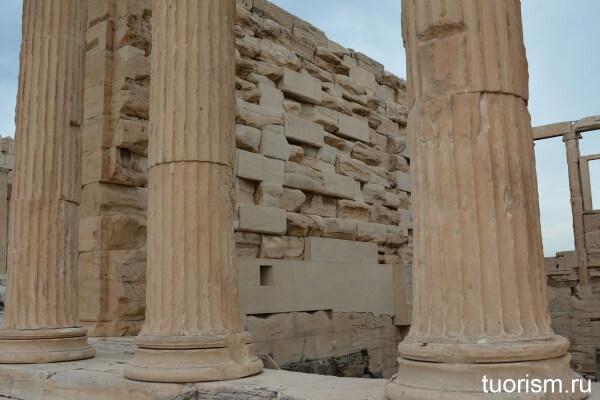 Реставрация Эрехтейона, Акрополь