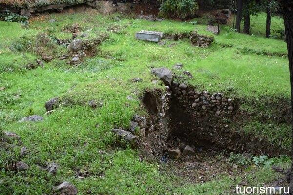 Неизвестные руины, Афины