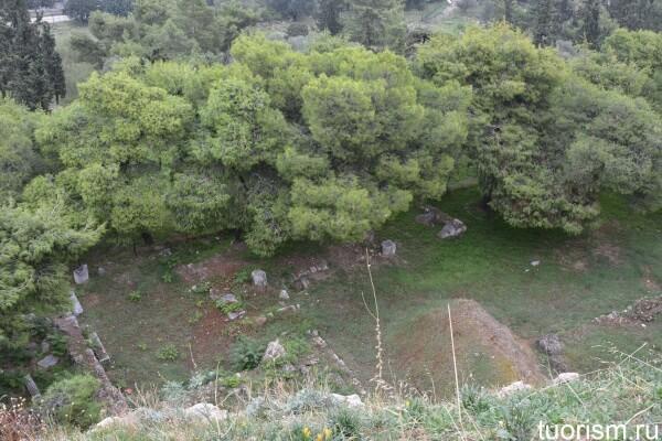 Ареопаг, руины