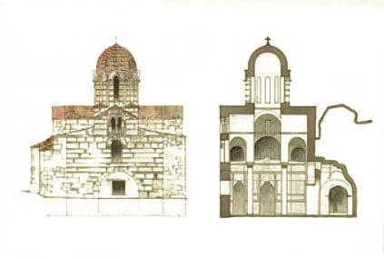 Старая церковь в Афинах