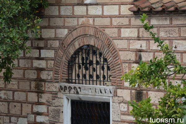 Церковь 11 века в Афинах, church 11 century