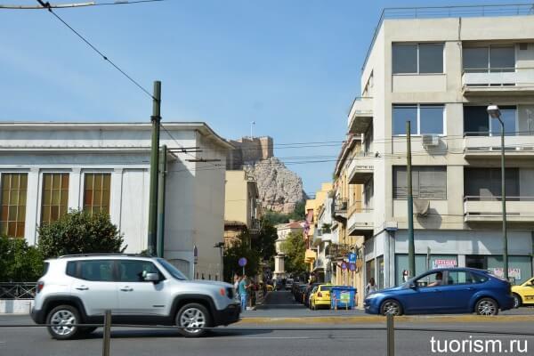 Улица Лисикрата, Афины, Lysicrates street