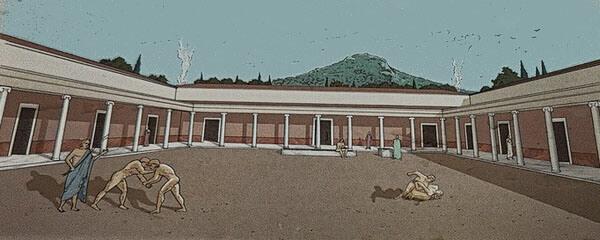Палестра гимнасия, Ликей, Афины