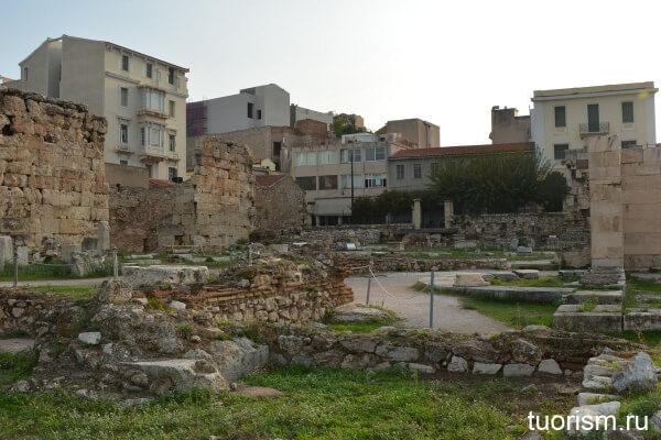 апсида, библиотека Адриана