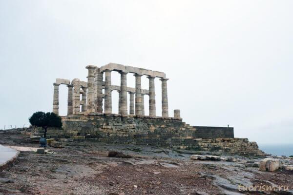 храм, мыс Сунион, Греция, что посмотреть, старый храм, языческий храм, храм Посейдона, храм морского бога