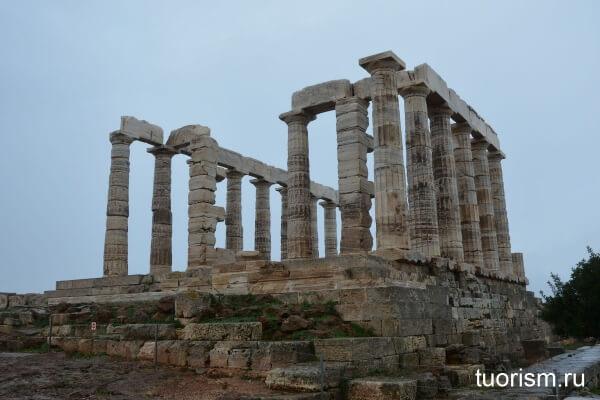 храм Посейдона, сунион, Temple of Poseidon, sounio