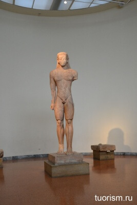курос, сунион, статуя, Sounion Kouros