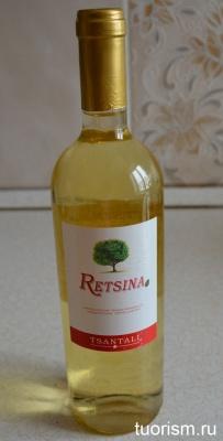 Вино Рецина, Греция, Retsina
