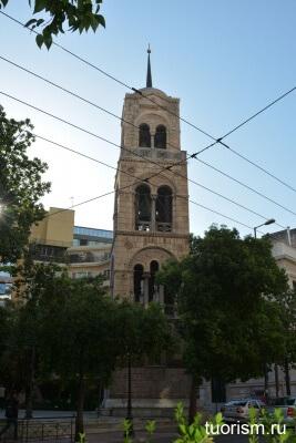 Русская посольская церковь в Афинах, колокольня