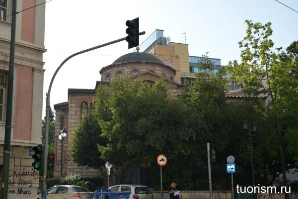 Русская церковь Святой Троицы, Афины, достопримечательность