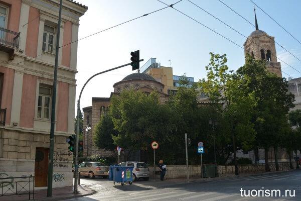 Русская посольская церковь в Афинах, russian church in athens