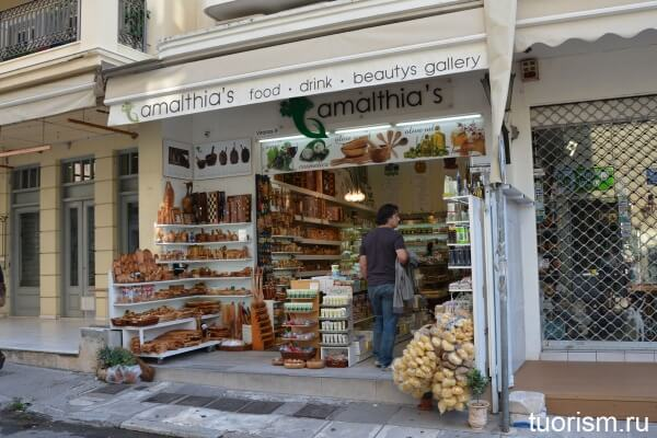 Сувенирный магазин, Афины