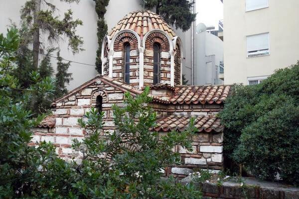 Церковь Всех Святых, Афины, Греция, православная церковь, старая церковь
