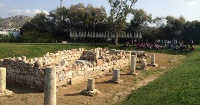 храм, Аполлон Зостер, святилище, храм Аполлона Зостера, Афины, Греция, Вульягмени, достопримечательность, греческий храм, античный храм, руины