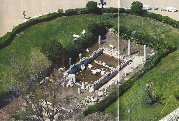 храм аполлона зостера, афины, архаический храм