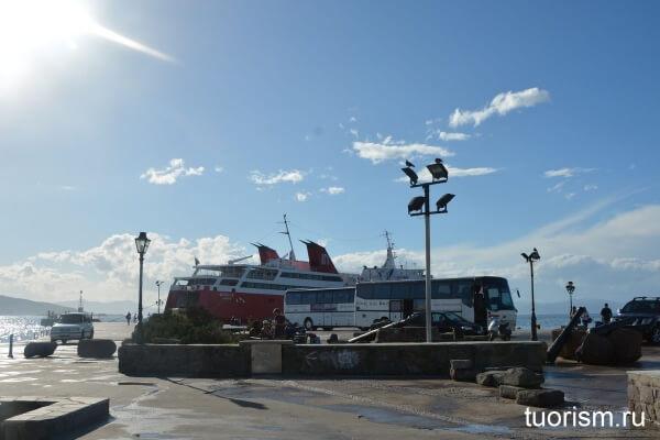 паром, Nova ferries, порт эгины, остров эгина, Aegina, ferry, seaport