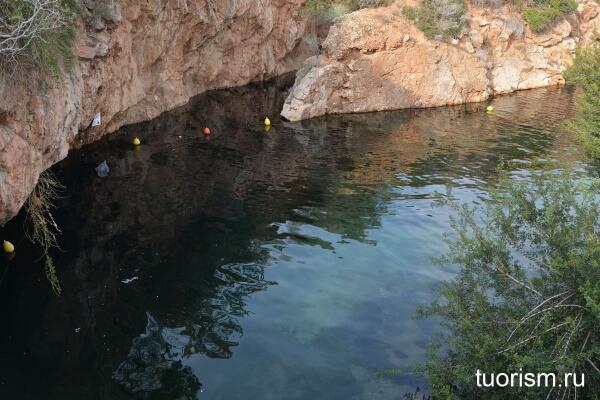 озеро вульягмени, греция