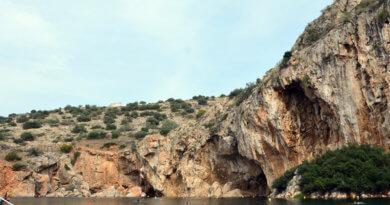 Озеро Вульягмени, Греция, озеро, термальное озеро, Вульягмени, Вулиагмени