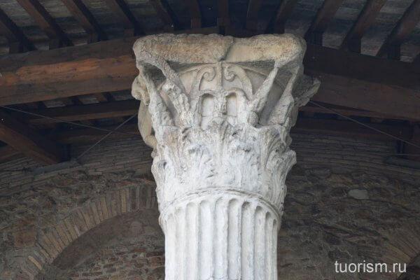 капитель, храм Геркулеса, Рим