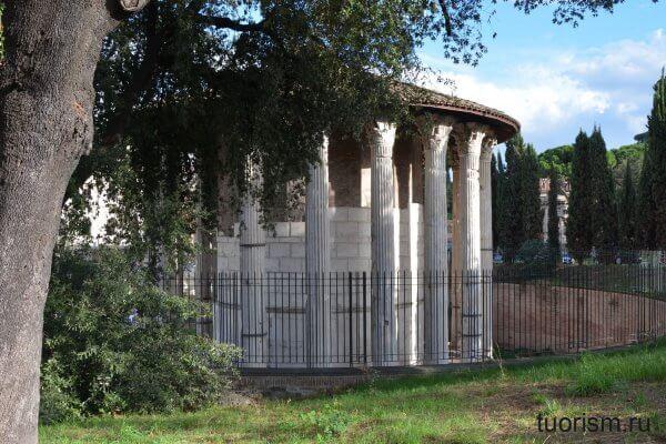 храм Геркулеса, ercole oleario, tempio di Ercole Vincitore