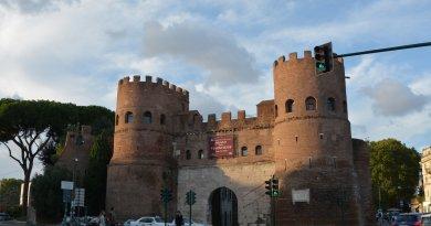 Ворота Сан-Паоло, Рим, музей Остиансе, достопримечательность