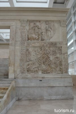 рельеф, Эней, миф, Рим, алтарь Мира, достопрмиечательность