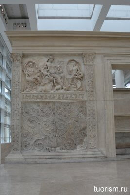 алтарь Мира, Рим, описание, достопримечательность