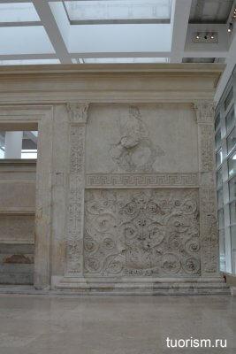 богиня Рома, алтарь Мира, Рим, император Август, рельеф, изображение