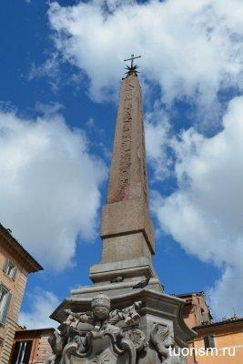 обелиск, египетский обелиск, фонтан Пантеона