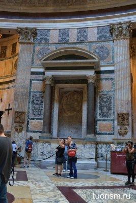 фреска, 15 век, Рим, Италия, Тосканская школа, Пантеон