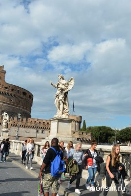 ангел с гвоздями, мост ангела, Рим, статуя, Angel with the Nails, Rome