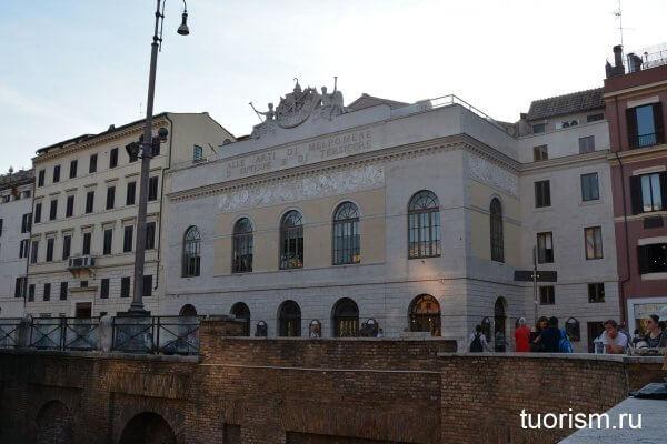 театр Арджентина, Севильский цирюльник, театры Рима, театр, Италия, Рим