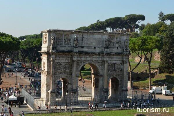 арка Константина, Рим, Arch of Constantine