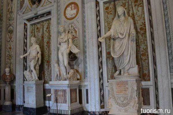 скульптуры, галерея Боргезе, sculpures, Borghese gallery