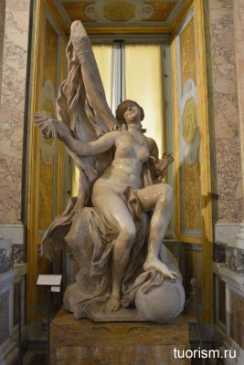 Истина, скульптура, Бернини, статуя, галерея Боргезе, sculpture, The Truth, Bernini, Borghese gallery