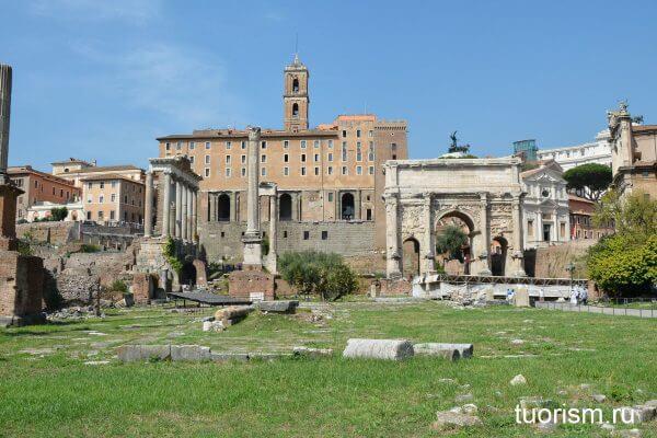Табуларий, Рим, римский форум, палаццо Сенаторов