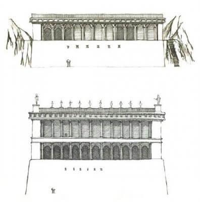 Табуларий, Рим, римский форум, реконструкция