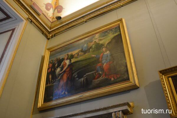 Мария Магдалина, феррарская школа, картина, галерея Боргезе