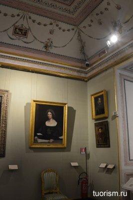 зал Вакханок, галерея Боргезе, Рим,Bacchae Room, Borghese gallry, Rome