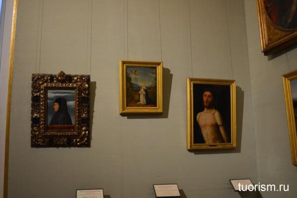 картины, зал 13, галерея Боргезе