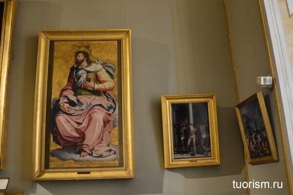 картины, галерея Боргезе, зал 16