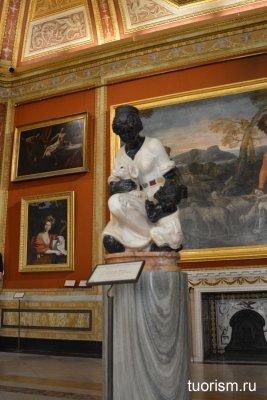 Девушка с собакой, скульптура, Джамбаттиста делла Порта, мрамор, галерея Боргезе, Giambattista della Porta, Borghese gallery, sculpture