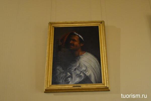Флейтист, Джорджоне, картина, галерея Боргезе, Рим, Giorgione