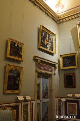 картины, искусство, галерея Боргезе, зал 20, Рим