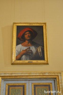 Страстный певец, Джорджоне, галерея Боргезе, Giorgione