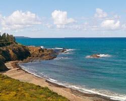 пляж, Трулороцос, Кипр, Помос, север Кипра