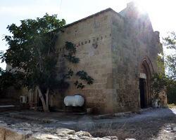 церковь Святого Креста, Фамагуста, Северный Кипр, церковь Ставрос, мечеть Мустафа-паши