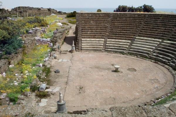 театр, Саламин, римский театр