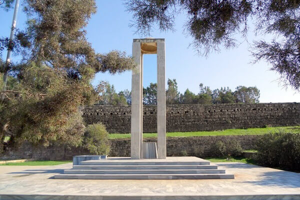 памятник мученикам, Чанаккале, Фамагуста, достопримечательность