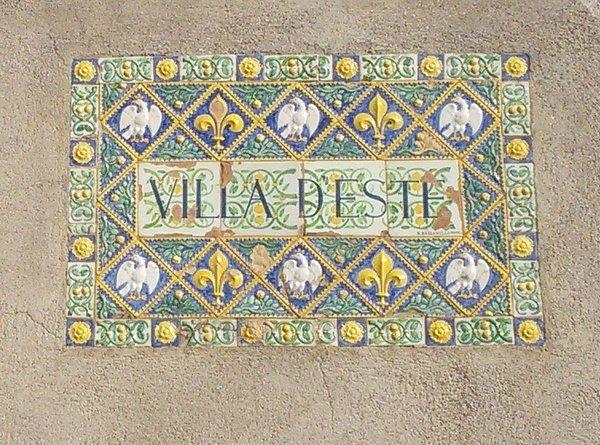 villa d'Este, mosaic